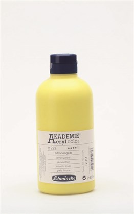 Schmincke Akademie Akrilik Boya 500 Ml 222 Lemon Yellow