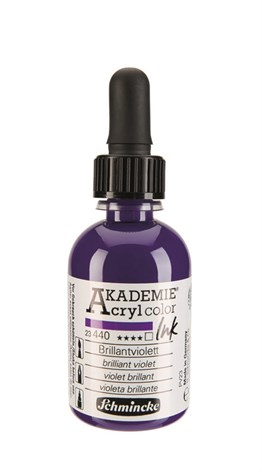 Schmincke Akademie Acrylic Ink 50 Ml 440 Brilliant Violet