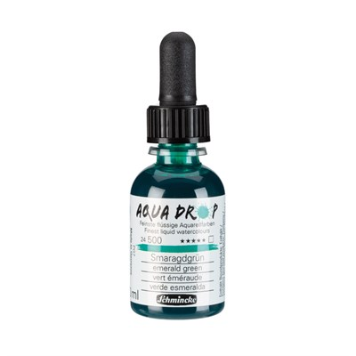 Schmincke Aqua Drop Sıvı Suluboya Emerald Green 30 ml