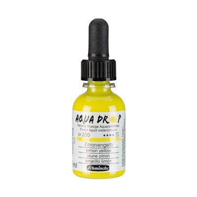 Schmincke Aqua Drop Sıvı Suluboya Lemon Yellow 30 ml