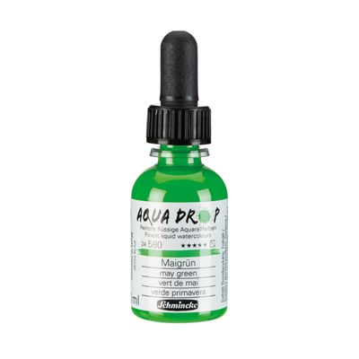 Schmincke Aqua Drop Sıvı Suluboya May Green 30 ml