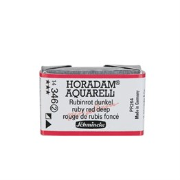 Schmincke Horadam Aquarell Artist Sulu Boya Tam Tablet Seri 2 346 Rubby Red Deep