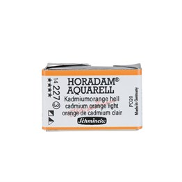 Schmincke Horadam Aquarell Artist Sulu Boya Tam Tablet Seri 3 227 Cadmium Orange Light
