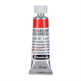 Schmincke Horadam Aquarell Artist Sulu Boya 15 ml Tüp Seri 3 360 Permanent Red Orange