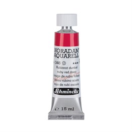 Schmincke Horadam Aquarell Artist Sulu Boya 15 ml Tüp Seri 2 346 Ruby Red Deep