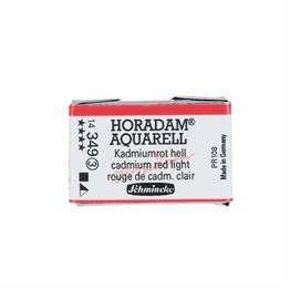 Schmincke Horadam Aquarell Artist Sulu Boya Tam Tablet Seri 3 349 Cadmium Red Light
