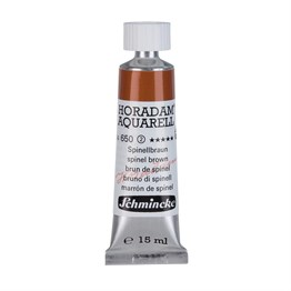 Schmincke Horadam Aquarell Artist Sulu Boya 15 ml Tüp Seri 2 650 Spinel Brown