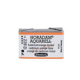 Schmincke Horadam Aquarell Artist Sulu Boya Tam Tablet Seri 3 228 Cadmium Orange Deep
