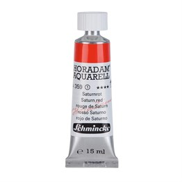 Schmincke Horadam Aquarell Artist Sulu Boya 15 ml Tüp Seri 1 359 Saturn Red