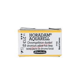 Schmincke Horadam Aquarell Artist Sulu Boya Tam Tablet Seri 2 213 Chrome Yellow Deep No Lead