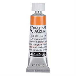 Schmincke Horadam Aquarell Artist Sulu Boya 15 ml Tüp Seri 2 214 Chrome Orange No Lead