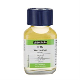 Schmincke Medium 012 Walnut Oil Ceviz Yağı 60 ml