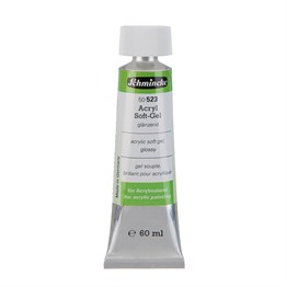 Schmincke Medium 523 Soft Gel Parlak Soft Jel 60 ml