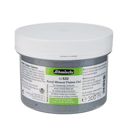 Schmincke Medium 533 Mineral Flakes Gel Mineral Parçalı Jel 250 ml