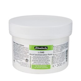 Schmincke Medium 543 Structuring Paste Şekil Hamuru 250 ml