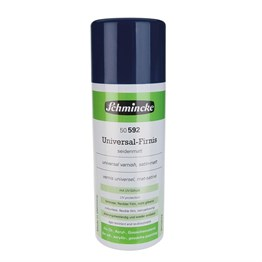 Schmincke Medium 592 Universal Varnish Genel Amaçlı UV Korumalı Saten Mat Final Sprey Vernik 400 ml