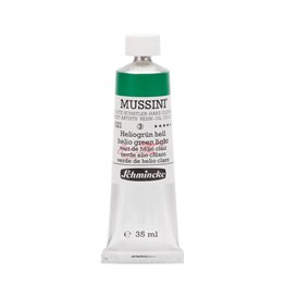 Schmincke Mussini Artist Yağlı Boya 35 ml Seri 3 521 Helio Green Light