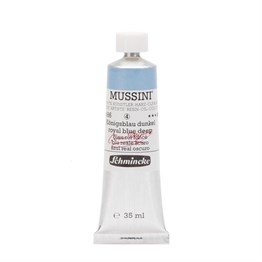 Schmincke Mussini Artist Yağlı Boya 35 ml Seri 4 486 Royal Blue Deep