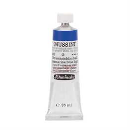 Schmincke Mussini Artist Yağlı Boya 35 ml Seri 2 491 Ultramarine Blue Light