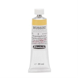 Schmincke Mussini Artist Yağlı Boya 35 ml Seri 4 231 Naples Yellow Light
