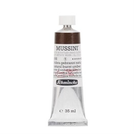 Schmincke Mussini Artist Yağlı Boya 35 ml Seri 1 666 Natural Burnt Umber
