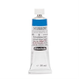Schmincke Mussini Artist Yağlı Boya 35 ml Seri 5 480 Cobalt Blue Light