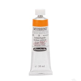 Schmincke Mussini Artist Yağlı Boya 35 ml Seri 3 223 Indian Yellow