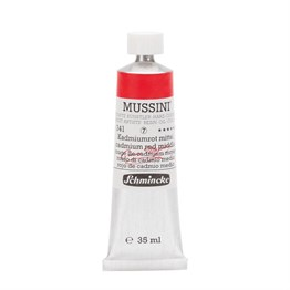 Schmincke Mussini Artist Yağlı Boya 35 ml Seri 7 341 Cadmium Red Middle