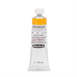 Schmincke Mussini Artist Yağlı Boya 35 ml Seri 3 238 Translucent Yellow