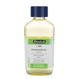 Schmincke Medium 008 Dammar Varnish Parlak Dammar Vernik 200 ml
