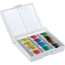 St. Petersburg White Nights Watercolours Set 12 Colors Plastic Box