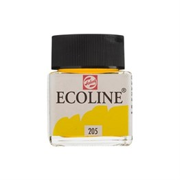 Talens Ecoline Sıvı Sulu Boya 30 ml 205 Lemon Yellow