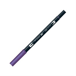 Tombow Dual Brush Pen Grafik Çizim Kalemi 636 Imperial Purple
