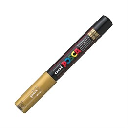 Uni Posca PC-1M Paint Marker 0.7 mm Gold