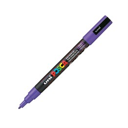 Uni Posca PC-3M Paint Marker 0.9-1.3 mm Purple