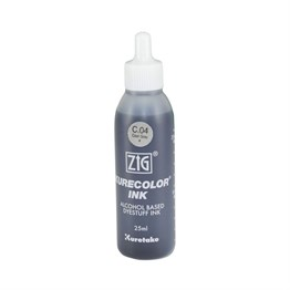 Zig Kurecolor Alcohol ink 25 ml Cool Gray 4