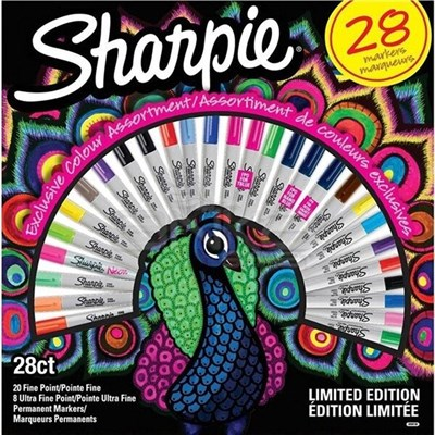 Sharpie Permanent Set Fine 28li Tavuskuşu
