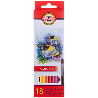 Kohinoor Aquarell Fish 3717 18li