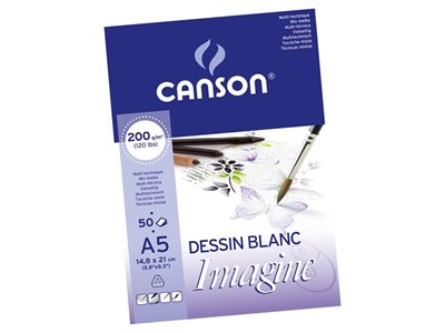 Canson Mix Media İmagine A5 200G 50Sayfa