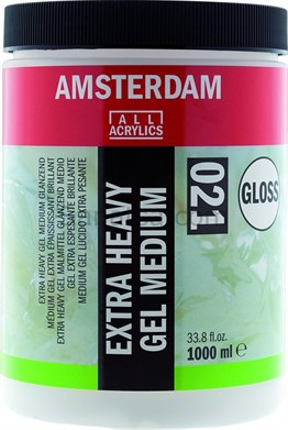 Amsterdam Extra Heavy Gel Medium Gloss 1000ML