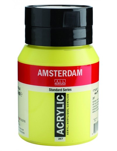 Talens Amsterdam Akrilik Boya 500 ml 267 Azo Yellow Lemon