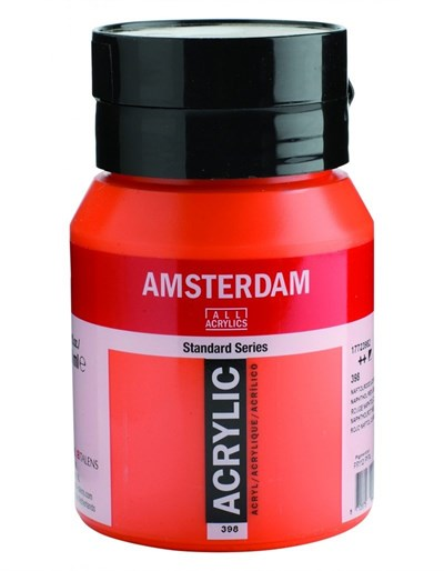 Talens Amsterdam Akrilik Boya 500 ml 398 Naphtholol Red L