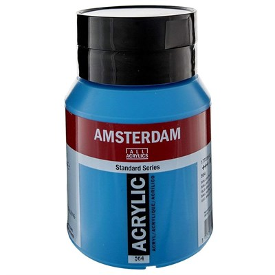AMSTERDAM AKRİLİK BOYA 500 ML 564 BRİLLİANT BLUE
