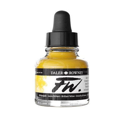 FW INK 29,5ML BRILL YELLOW